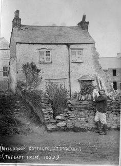 An archive of 900 photographs featuring Devon and Cornwall, taken by photographer and dockyard employee, William Gilhen Old Pictures, Old Photos, Vintage Photos, Devon Uk, Devon And Cornwall, Plymouth England, Historic Properties, Ancestry, Great Photos