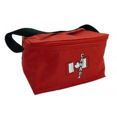 Canada Lunch Bag Red $9.99 Canada, Lunch, Bags, Handbags, Eat Lunch, Taschen, Purse, Purses, Lunches