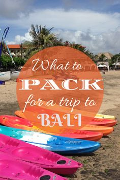 What to pack for a trip to #Bali! http://www.wheressharon.com/asia-with-kids/bali-with-kids-guide-bali-family-holidays/