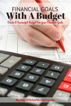 Financial Goals With A Budget - Planning for financial freedom is a hard and rewarding road. To succeed on any financial goal start with a good budget. Financial Goals With A Budget