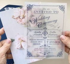 Invitaciones de boda: Las mejores ideas para el 2017 [FOTOS] - Ideas invitaciones de boda 2017 #weddingdecoration