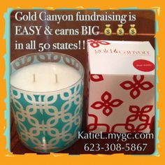 Fundraise the easy way and earn 40% profit. A group of 10 people who sell 5 candles each - earns $400. I don't know about you, but I'd rather sell 5 candles any day over 50 candy bars!  https://KatieL.mygc.com