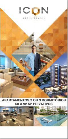 RS Notícias: Apartamento 2 Dormitórios/suíte Condomínio Icon Zo...