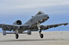 U.S. Air Force Lt. Col. Steven Behmer, 354th Fighter Squadron commander, performs a low pass approach in an A-10C Thunderbolt II during training at White Sands Missile Range, N.M., Dec. 4, 2014. Behmer and eight other 354th FS pilots traveled to the missile range to conduct instructor pilot training for austere landing on unimproved surfaces. (U.S. Air Force photo by Airman 1st Class Chris Massey/Released)