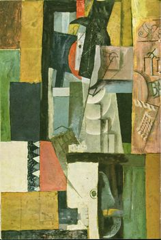 TICMUSart: Man with guitar - Pablo Picasso (1913) (I.M.)
