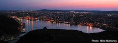St John's Newfoundland Tourist and Visitor Tips St John's, Newfoundland, The Neighbourhood, Saints, River, Park, History, Night, Beach