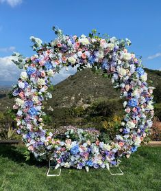 Excited to share this item from my #etsy shop: Pastel Wedding Circle Arch Flowers, Dusty Blue-Blush Pink-Lavender-White Wedding Arch Flowers, Lux Wedding Flower Swags for Circle Arch Tiffany Blue Flowers, Blush Pink Wedding Flowers, Blue Hydrangea Wedding, Blue And Blush Wedding, Blue White Weddings, Wedding Reception Flowers, Pink Wedding Receptions, Blue Wedding Decorations, Communion Decorations