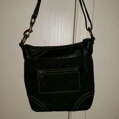 Coach black purse Coach black purse Coach Bags Shoulder Bags