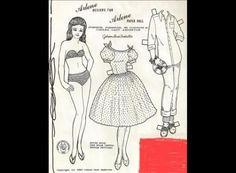 Paper Doll de Joanna Gast Anderton - années 60