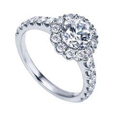 Genesis Designs W-ER7292 Engagement Ring