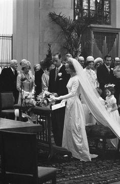 18 avril 1966 : mariage du prince Karl de Hesse-Cassel et de la comtesse Yvonne Szapary