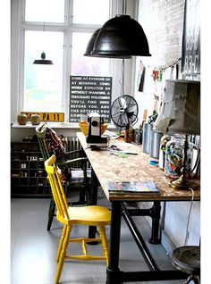Working Space inspiration via www.mr-cup.com