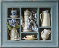 Kenne Gregoire paintings schilderijen - acryl op paneel