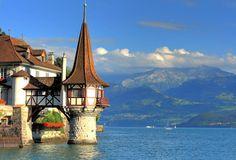 Oberhofen Castle-Switzerland