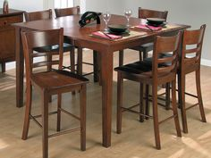 pub style table from fischer furniture