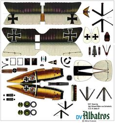 World War I DV Albatros
