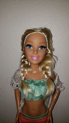 In great condition with rooted lashes and outfit. Mattel Dolls, Lashes, Wonder Woman, Princess Zelda, Superhero, Big, Outfits, Women, Suits