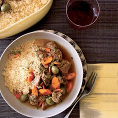 When making most stews, cooks typically brown the meat before braising it; here, Ethan Stowell skips that step, which simplifies the Moroccan recipe a...