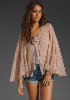 WINTER KATE Kashi Bed Jacket in Print at Revolve Clothing - Free Shipping!