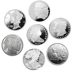 Brand New Silver Rounds In Various Sizes. .999 Pure Silver. #silver http://www.gainesvillecoins.com/category/281/2014-silver-bullion-coins.aspx