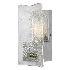 Uttermost Cheminee 1-light Textured Sconce