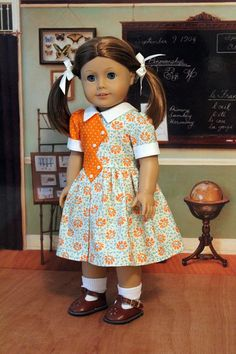 1940's Frock for Molly or Emily by BabiesArtUs on Etsy. $52.00.