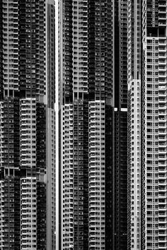 I choose this image because of how this group of buildings when combined, creates an intricate pattern. I also like the industrial design created from these buildings. As if they are all a part of a complex machine, similar to the early computers of the 20th century.