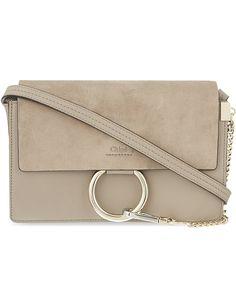CHLOE Faye small leather shoulder bag