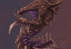 Hydralisk concept art from Starcraft II by Samwise Didier