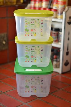 Tupperware FridgeSmart Containers, these really are incredible. Fruits and Veggies that can last up to a month.