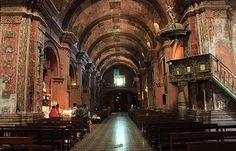 Peruvian Cathedral Interior