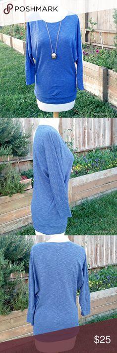 Cynthia Rowley dolman top Beautiful Cynthia Rowley tunic 60% cotton 40% modal, dolman long sleeve, stretchy waistband size small gently used in good condition. Cynthia Rowley Tops Tees - Long Sleeve