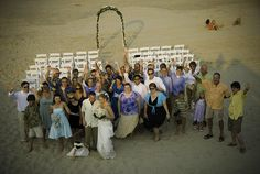 Real Weddings: Corey and Christopher's Beach Wedding in NC
