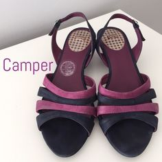 40e725abc61c SALE CAMPERSandals Size 37 VERY GOOD Condition CAMPER Leather Sandals  Size 37 VERY GOOD