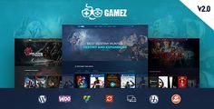 Gamez is responsive WordPress theme crafted for games, movie and music review website. Easy to install and simplified writing interface with lots of option allow you to write beau...