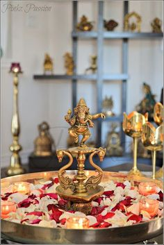 Ganpati Decoration Ideas | Ganpati Decoration Themes | Ganpati Décor | Ganesh Chaturti Décor | Ganesh Chaturthi Décor | DIY | Flowers | Indian Festivals | Ganesha | Ganpati Bappa | Gauri | Home Décor | Idol |  @purplevelvetpro | www.purplevelvetproject.com