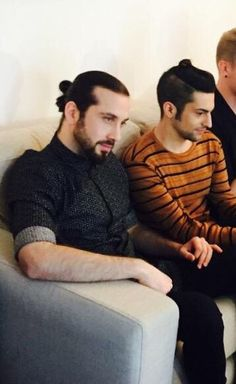 Man buns in Milan