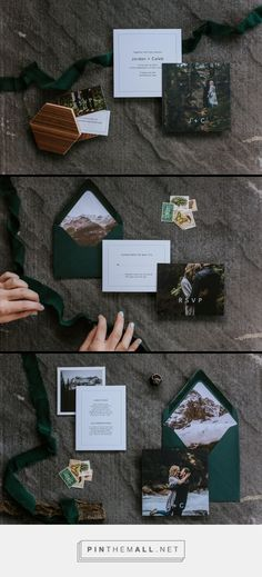 This Is Us - Semi-custom Wedding Invitation Collection by Bexley Design Co.