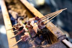 #BBQ #skewers #spiedini #editors #graphics #istockphoto #editores #graficos #editorial #marisaperezdotnet http://www.istockphoto.com/photo/barbecue-skewers-76285353?st=9a73c22