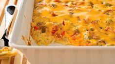VELVEETA Cheesy Bacon Brunch Casserole Allrecipes.com