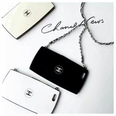 New luxury Charming CC Compact Famouse Powder Style case cover for iPhone 6 6 Plus 7 7 Plus Back Cover Capa with Chain Strap Iphone Phone Cases, Iphone Case Covers, Saint Laurant, Chanel Decor, Coque Iphone 7 Plus, Accessoires Iphone, Iphone Accessories, My Bags, Iphone6s Plus