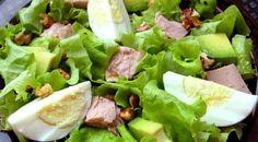 Вкусный и полезный зелёный салат с тунцом для Вас! / Воркаут как образ жизни