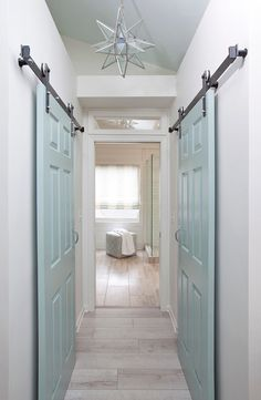 sliding closet doors | Lisa Gabrielson Interior Design