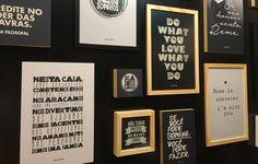 A 24ª Craft Design, feira de decoração, arte e design, trouxe expositores como a Caixa Filosofal, com quadros com frases divertidas e inspiradoras