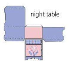 Bed Linens, Linen Bedding, Diy Barbie Furniture, Night Table, Nursery Room, Paper Dolls, Diorama, American Girl, Biscuit