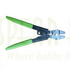 Crimping Tools for Spearfishing! Nice green color available in carbon or stainless steel at www.spearamerica.com