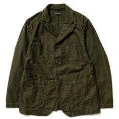 Engineered Garments Bedford Jacket - Moleskin (535$)