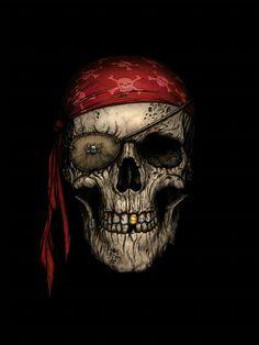 Pirate Skull ~ Andrew Dobell