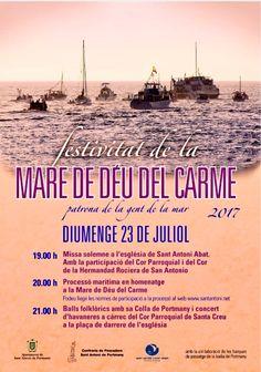 Hoy procesión marinera en Sant Antoni. Enjoy #Ibiza #tradition #Eivissa #summer