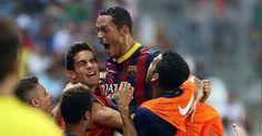 28/09/2013: Almería 0 - 2 Barça #LigaBBVA